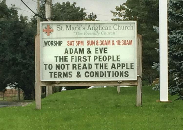 Funny Church Signs ideas