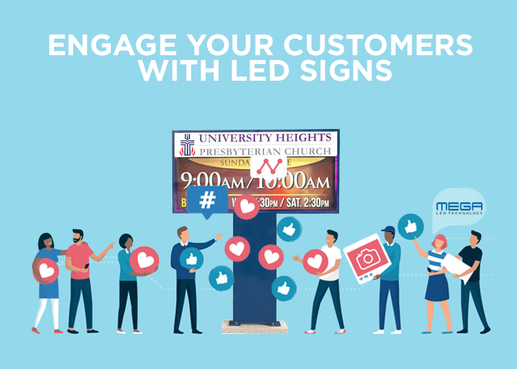 LED Church Sign ideas | engaging with your customers