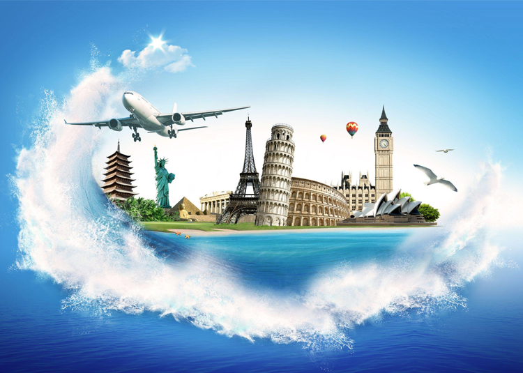 Artist rendering of Travel and Tourism