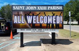 All Church LED sign
