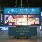 Creekside Community Church Monument LED sign