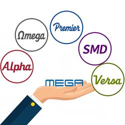 MEGA LED diverse product line