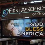 First Assembly of God Church LED sign