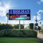 Holman Methodist Church LED sign