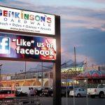 Jenkinsons boardwalk custom LED sign
