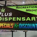 Cannabis Dispensary Custom LED sign