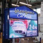 Splash and Sparkle Custom LED sign