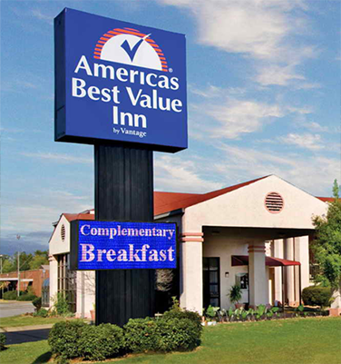 Hotel LED Signs | Americas Best Value Inn