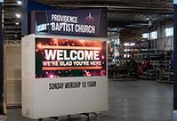 Providence Baptist Church Monument Sign