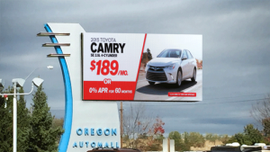 Toyota Camry Car Dealership LED sign