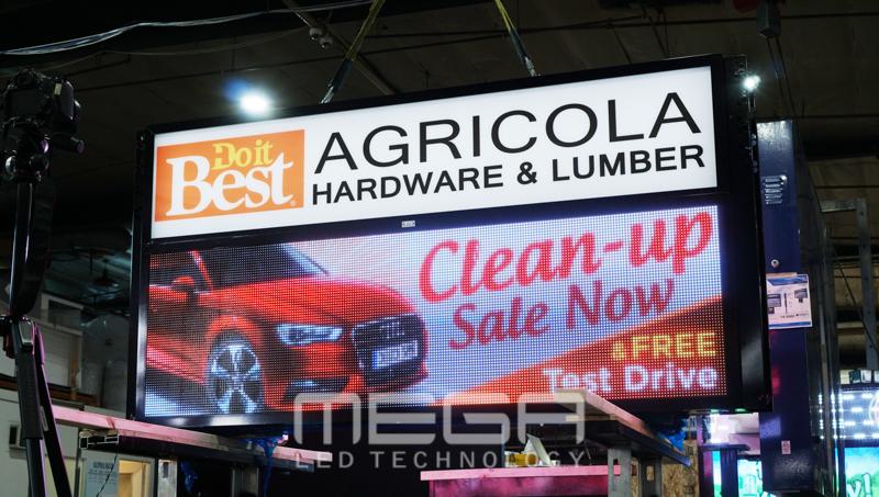 LED Sign boards | Agricola Hardware & Lumber