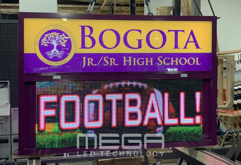 LED Sign boards | Bogota Jr/Sr High School