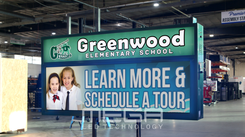 LED Sign boards | Greenwood Elementary School