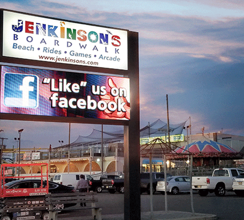 Jenkinsons Boardwalk Digital Signage