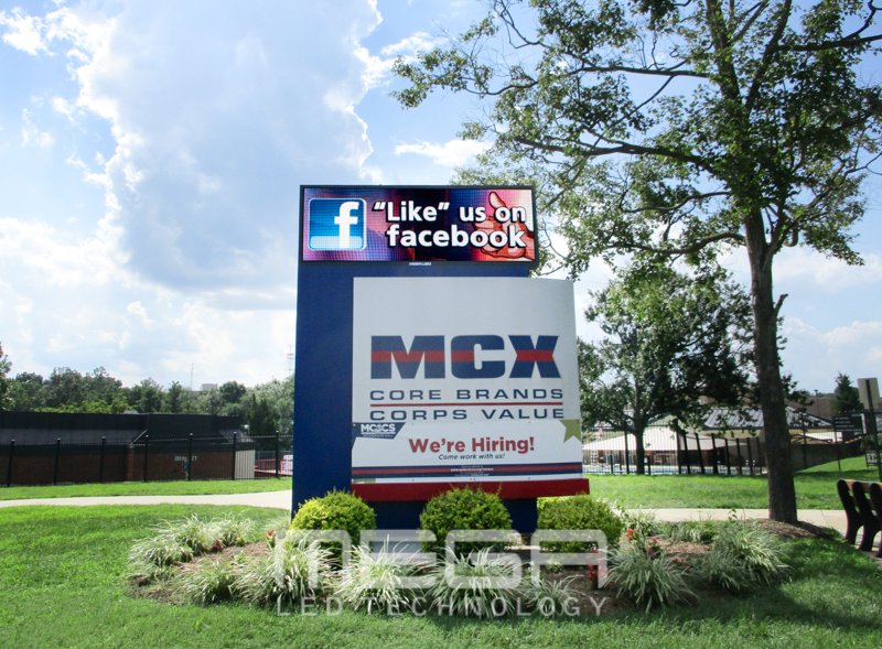 MXC LED Sign Board