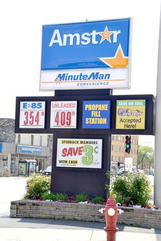 Multi purpose Gas Station Signs