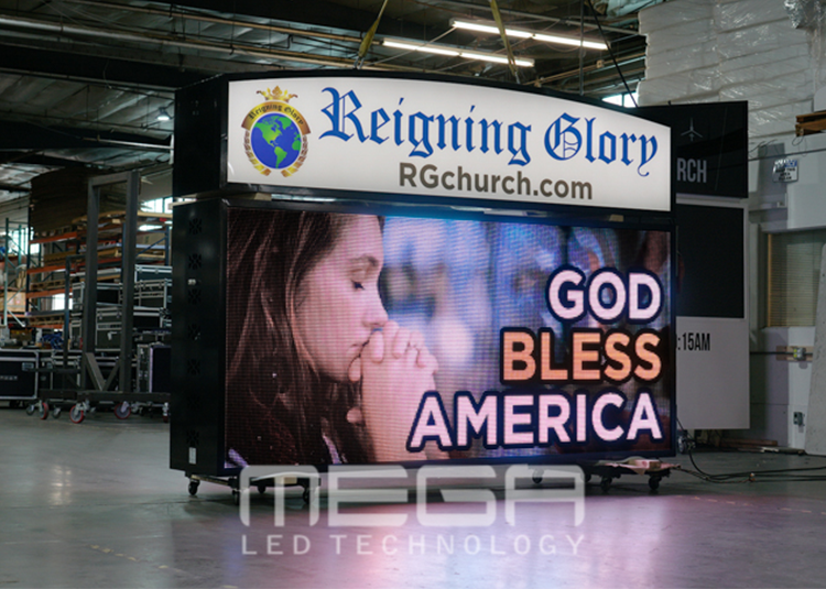 Reigning Glory Monument Sign