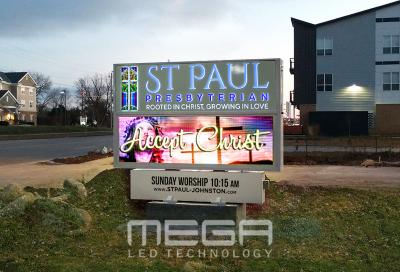 St Paul LED Church Signs Board