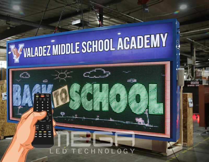 15 creative ideas for programmable LED signs | Sign with remote