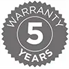 5 year warranty on all LED signs image