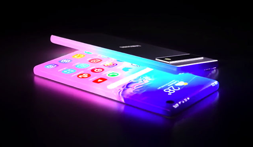 Future Smart phone in conjunction with Indoor LED Signs