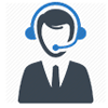 Representative with headset | Support