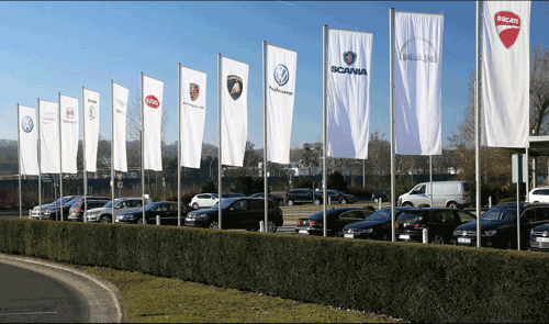 Car Dealership Flags