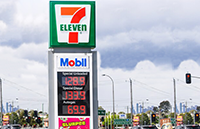 7-11 Gas Station LED signs