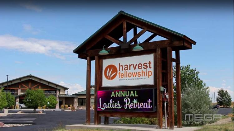 Harvest Fellow Ship Digital Church Sign