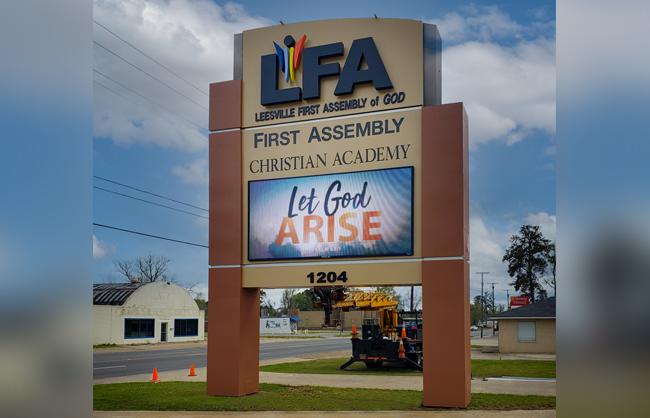 LFA Outdoor Digital Sign