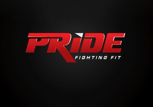 Pride FC Text as Logo