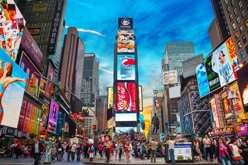 Times Square Billboards Designs