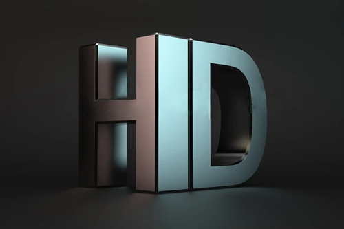 Bold HD Lettering